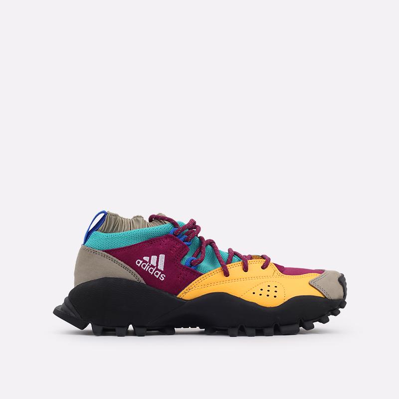 мужские разноцветные  кроссовки adidas seeulater og FW9174 - цена, описание, фото 1