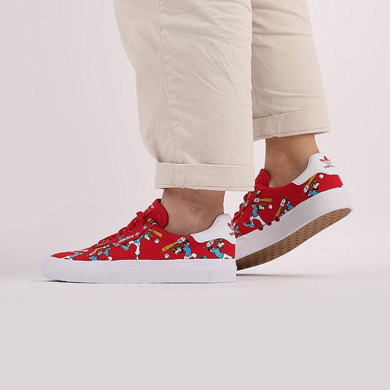 красные  кроссовки adidas 3mc x disney sport goofy FV9881 - цена, описание, фото 7