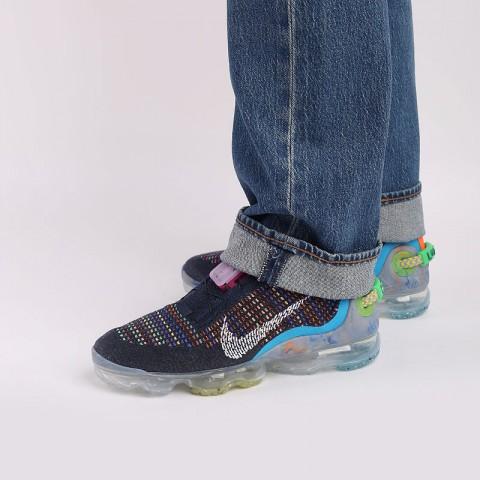 мужские синие  кроссовки nike air vapormax 2020 fk CJ6740-400 - цена, описание, фото 7