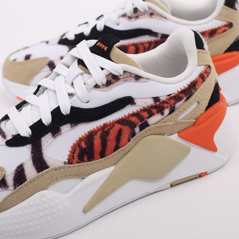 женские бежевые  кроссовки puma rs-x3 w.cats wn's 37395301 - цена, описание, фото 7