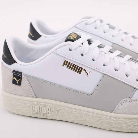 мужские белые  кроссовки puma ralph sampson mc 37406601 - цена, описание, фото 4