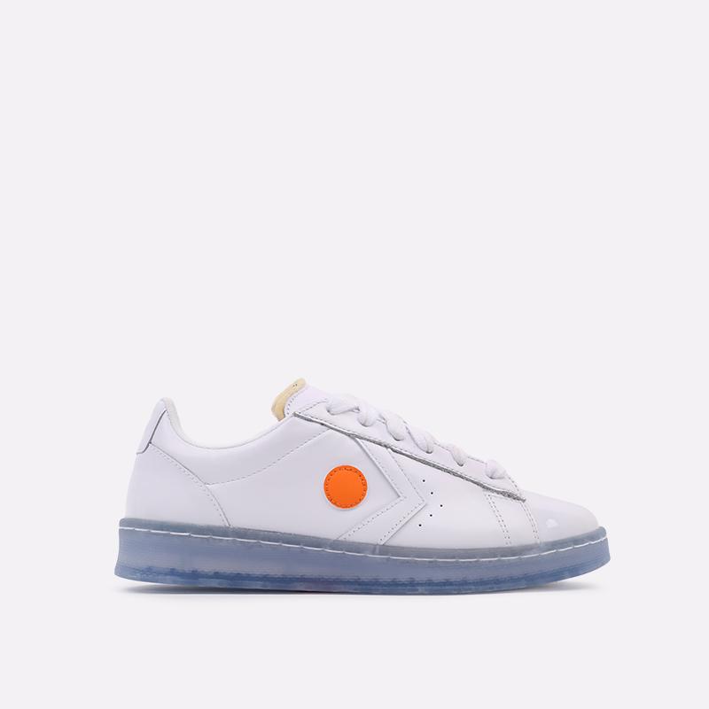 белые  кроссовки converse pro leather ox x rokit 169217 - цена, описание, фото 1