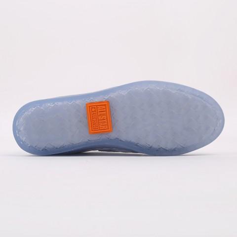 белые  кроссовки converse pro leather ox x rokit 169217 - цена, описание, фото 4