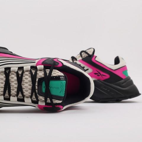 бежевые, чёрные, розовые  кроссовки reebok dmx series 3000 FV8652 - цена, описание, фото 8