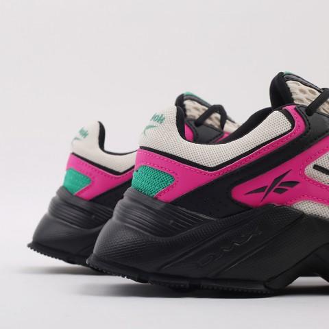 бежевые, чёрные, розовые  кроссовки reebok dmx series 3000 FV8652 - цена, описание, фото 3