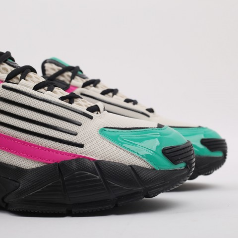 бежевые, чёрные, розовые  кроссовки reebok dmx series 3000 FV8652 - цена, описание, фото 4