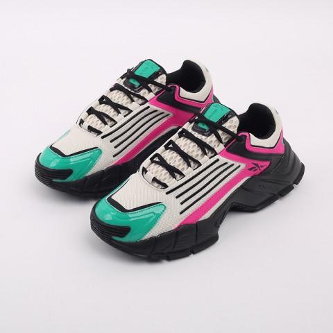бежевые, чёрные, розовые  кроссовки reebok dmx series 3000 FV8652 - цена, описание, фото 6