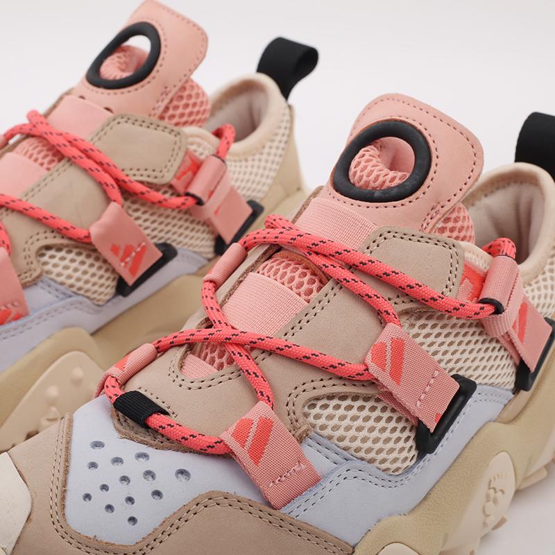 женские бежевые  кроссовки adidas fyw xta w FW6001 - цена, описание, фото 7
