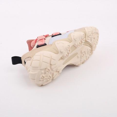 женские бежевые  кроссовки adidas fyw xta w FW6001 - цена, описание, фото 4