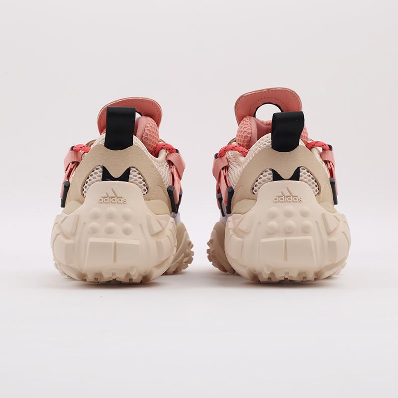 женские бежевые  кроссовки adidas fyw xta w FW6001 - цена, описание, фото 3