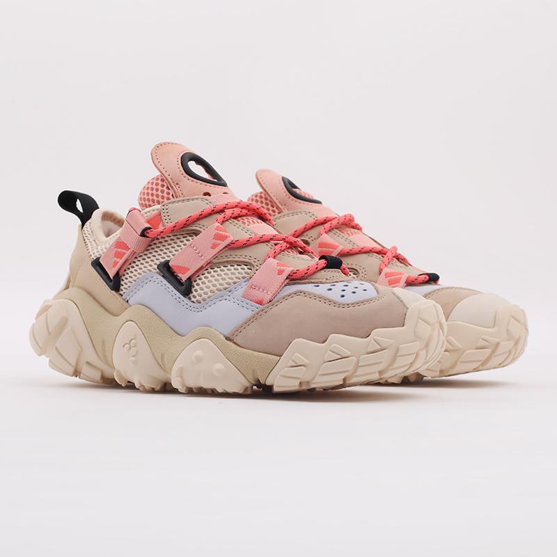 женские бежевые  кроссовки adidas fyw xta w FW6001 - цена, описание, фото 2