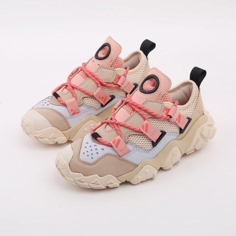 женские бежевые  кроссовки adidas fyw xta w FW6001 - цена, описание, фото 5
