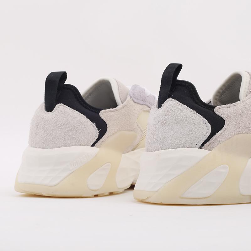 мужские бежевые  кроссовки adidas streetball low FW1215 - цена, описание, фото 3