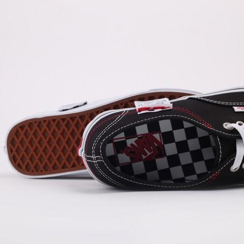 чёрные  кроссовки vans authentic hc VA4UUCU7BM - цена, описание, фото 5