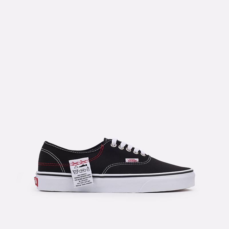 чёрные  кроссовки vans authentic hc VA4UUCU7BM - цена, описание, фото 1