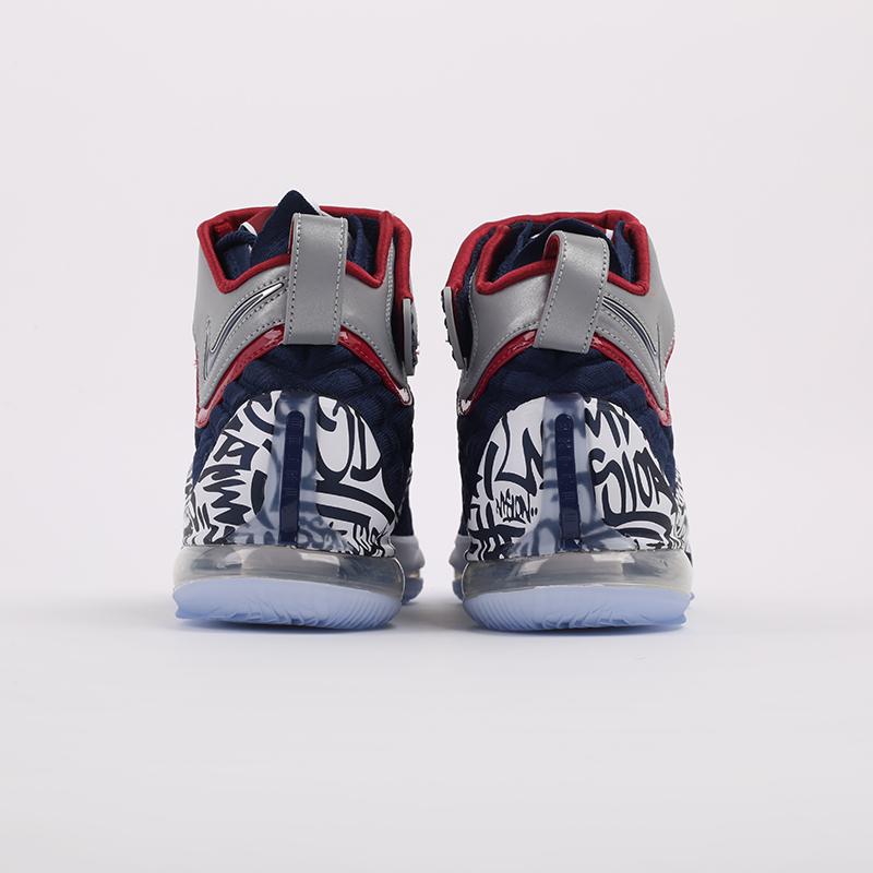 мужские синие  кроссовки nike lebron xvii fp CT6047-400 - цена, описание, фото 3
