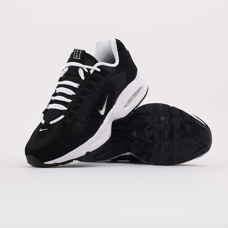 мужские чёрные  кроссовки nike air max triax le CT0171-002 - цена, описание, фото 7