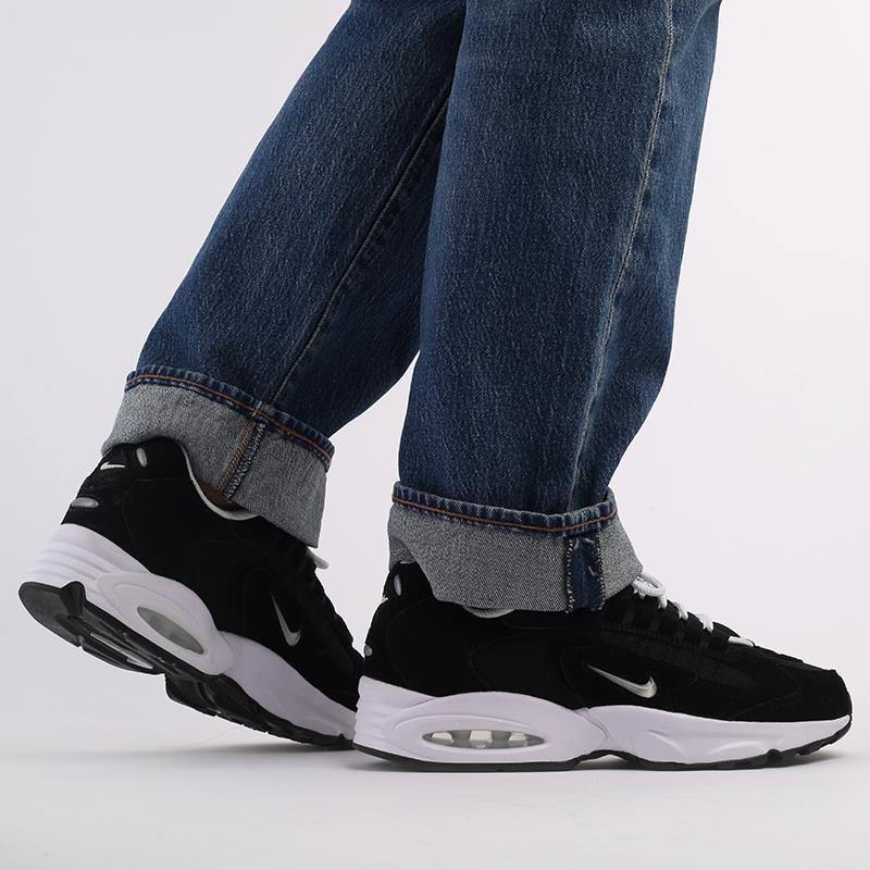 мужские чёрные  кроссовки nike air max triax le CT0171-002 - цена, описание, фото 8