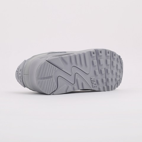 мужские серые  кроссовки nike air max 90 CN8490-001 - цена, описание, фото 4