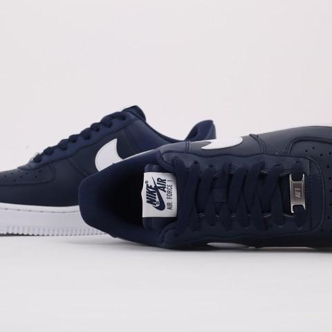 мужские синие  кроссовки nike air force 1 '07 an20 CJ0952-400 - цена, описание, фото 4