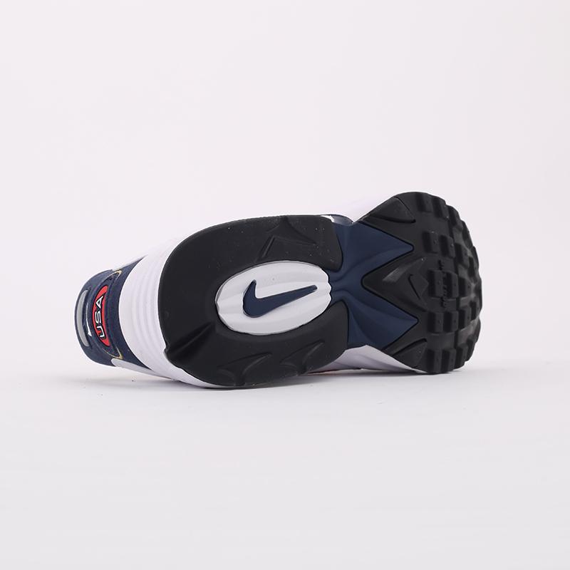мужские белые, синие  кроссовки nike air max triax usa CT1763-400 - цена, описание, фото 9