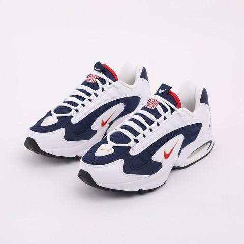 мужские белые, синие  кроссовки nike air max triax usa CT1763-400 - цена, описание, фото 6