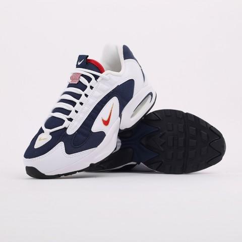 мужские белые, синие  кроссовки nike air max triax usa CT1763-400 - цена, описание, фото 8