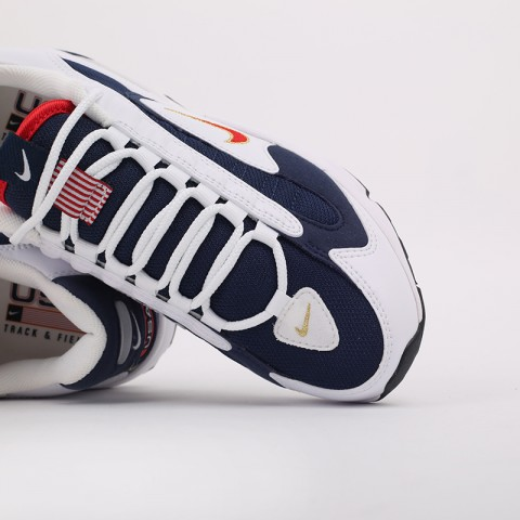 мужские белые, синие  кроссовки nike air max triax usa CT1763-400 - цена, описание, фото 7
