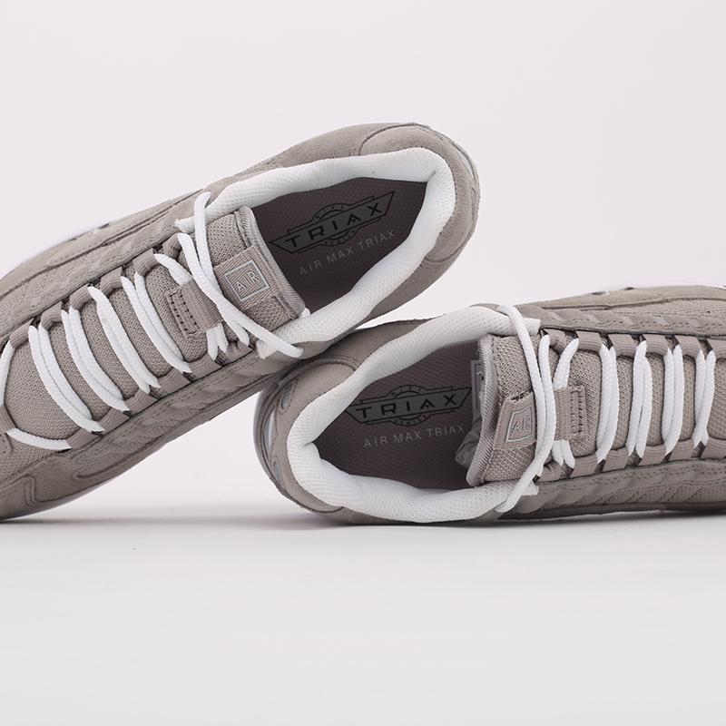 мужские серые  кроссовки nike air max triax le CT0171-001 - цена, описание, фото 9