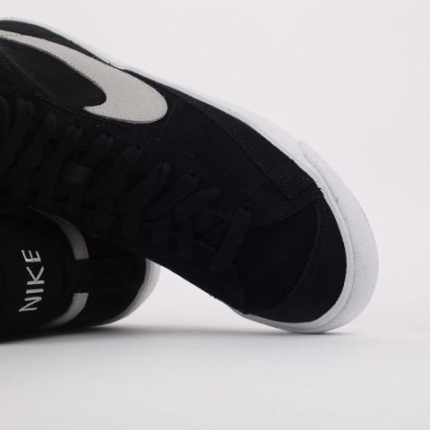 мужские чёрные  кроссовки nike blazer mid '77 suede CI1172-002 - цена, описание, фото 6