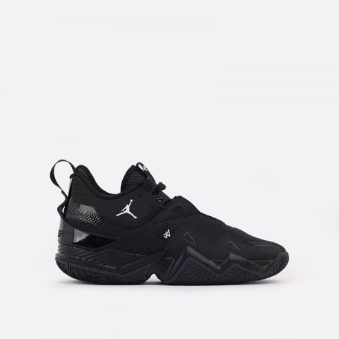 мужские чёрные  кроссовки jordan westbrook one take CJ0780-002 - цена, описание, фото 1