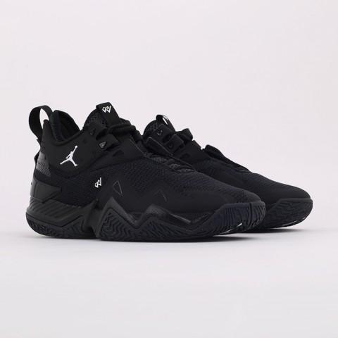 мужские чёрные  кроссовки jordan westbrook one take CJ0780-002 - цена, описание, фото 2