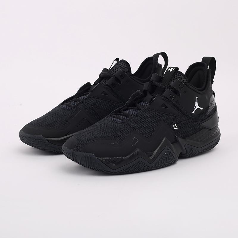 мужские чёрные  кроссовки jordan westbrook one take CJ0780-002 - цена, описание, фото 8