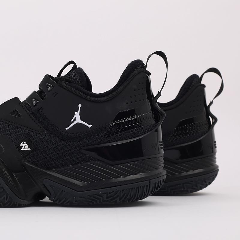 мужские чёрные  кроссовки jordan westbrook one take CJ0780-002 - цена, описание, фото 7