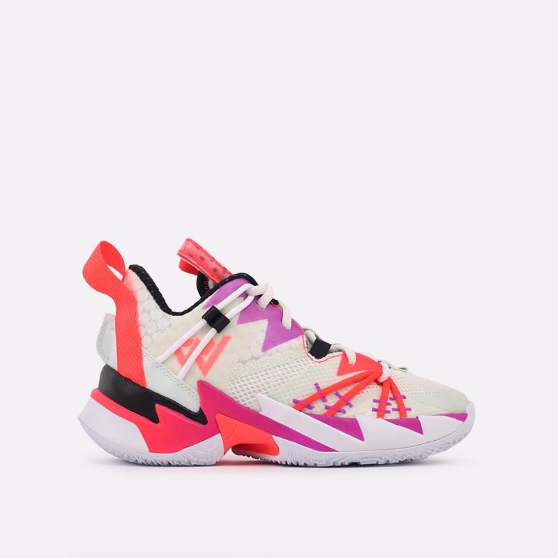 женские бежевые  кроссовки jordan why not zero.3 se (gs) CN8107-101 - цена, описание, фото 1