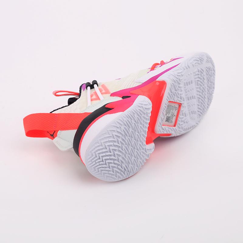 женские бежевые  кроссовки jordan why not zero.3 se (gs) CN8107-101 - цена, описание, фото 7