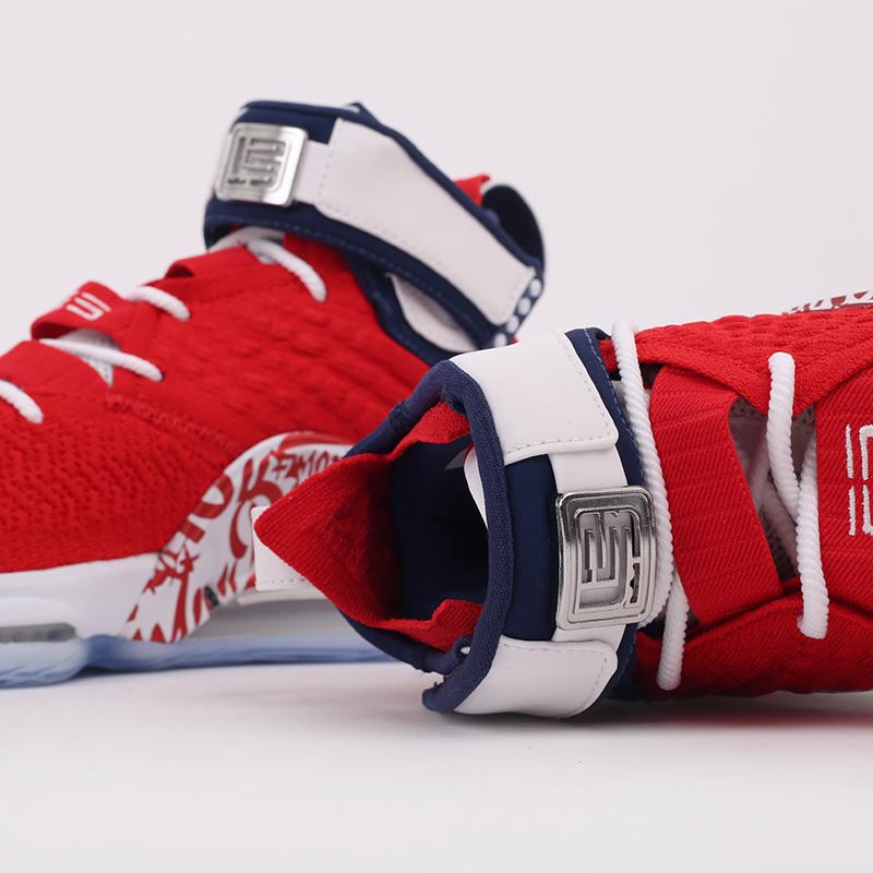 мужские красные  кроссовки nike lebron xvii fp CT6047-600 - цена, описание, фото 4