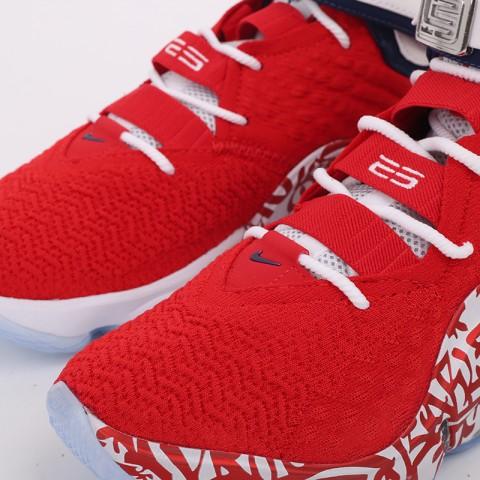 мужские красные  кроссовки nike lebron xvii fp CT6047-600 - цена, описание, фото 7