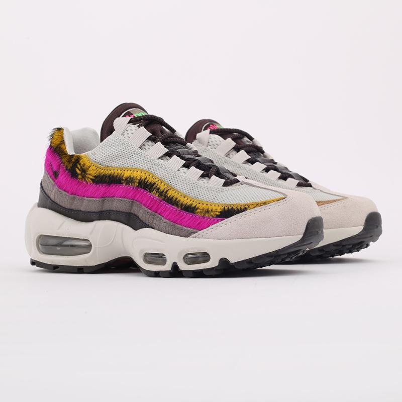женские разноцветные  кроссовки nike wmns air max 95 prm CZ8102-001 - цена, описание, фото 2