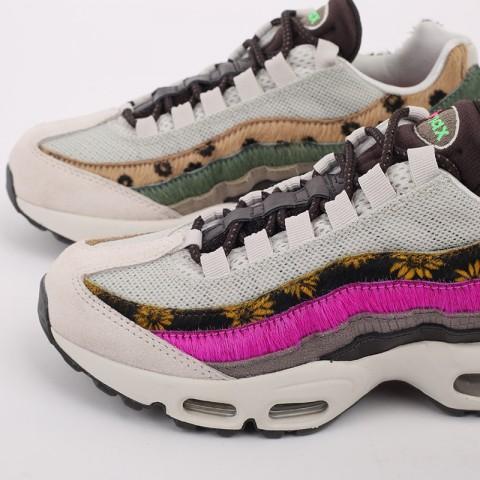 женские разноцветные  кроссовки nike wmns air max 95 prm CZ8102-001 - цена, описание, фото 5