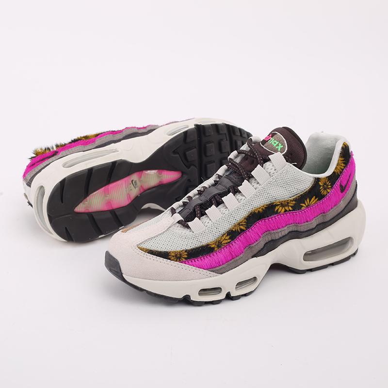 женские разноцветные  кроссовки nike wmns air max 95 prm CZ8102-001 - цена, описание, фото 6