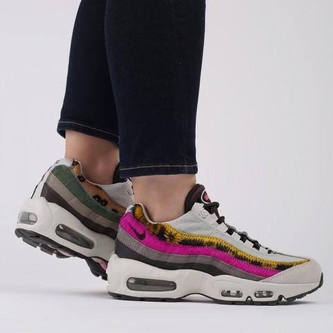 женские разноцветные  кроссовки nike wmns air max 95 prm CZ8102-001 - цена, описание, фото 9