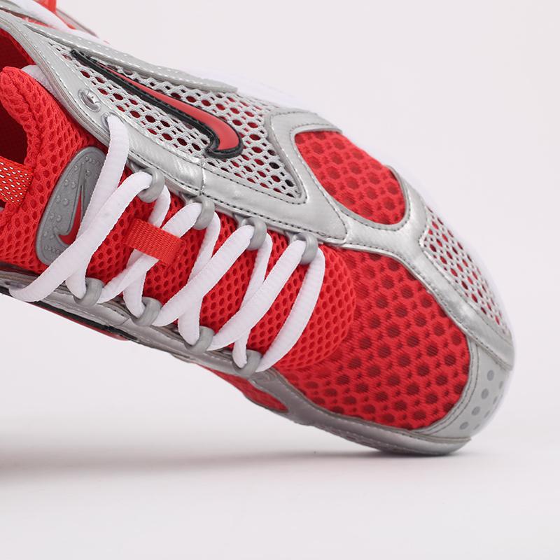 серые, красные  кроссовки nike air zoom spiridon cage 2 CJ1288-600 - цена, описание, фото 7