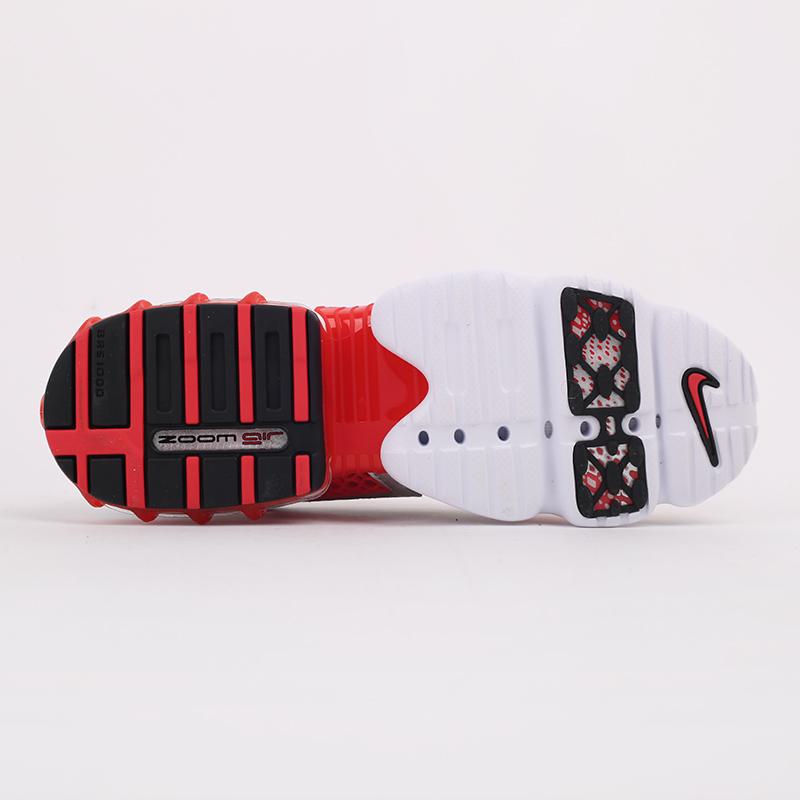 серые, красные  кроссовки nike air zoom spiridon cage 2 CJ1288-600 - цена, описание, фото 4