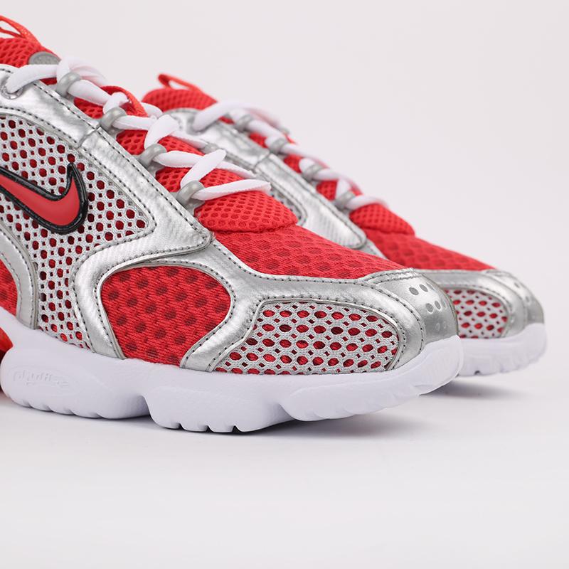 серые, красные  кроссовки nike air zoom spiridon cage 2 CJ1288-600 - цена, описание, фото 3