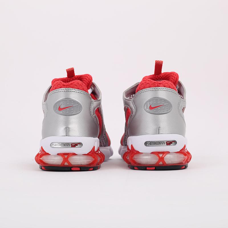 серые, красные  кроссовки nike air zoom spiridon cage 2 CJ1288-600 - цена, описание, фото 5