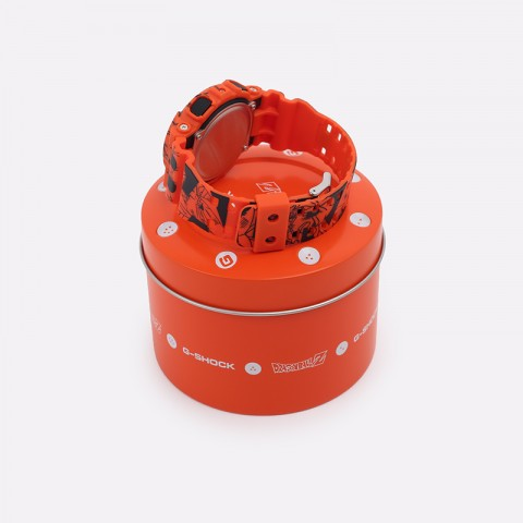 оранжевые  часы casio x dragon ball z GA-110JDB-1A4ER - цена, описание, фото 2