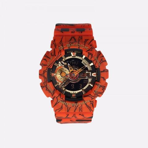 оранжевые  часы casio x dragon ball z GA-110JDB-1A4ER - цена, описание, фото 1