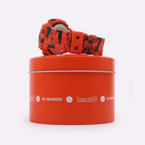 оранжевые  часы casio x dragon ball z GA-110JDB-1A4ER - цена, описание, фото 3