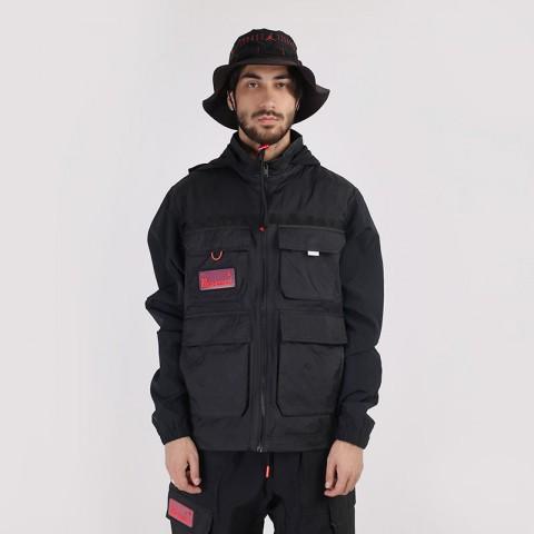 мужскую черную  куртку jordan 23 engineered full-zip jacket CK8935-010 - цена, описание, фото 1